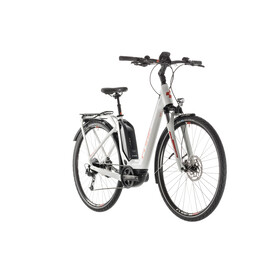 Cube Touring Hybrid 400 E-Trekking Bike Easy Entry grey